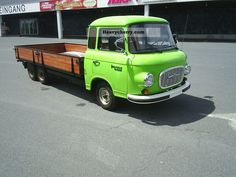 1976 Barkas B1000 3 axles Van or truck up to 7.5t Stake body