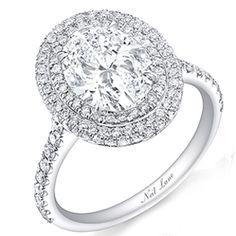 Andi Dorfman's three-carat oval engagement ring from Josh Murray.