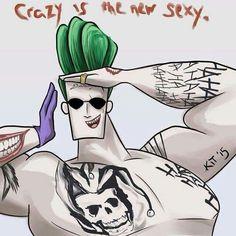 Johnny Bravo is the Joker