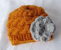 Baby Hat, Baby Girl Hat Newborn Hat Photo Prop, Baby Knit Hat Girl Knit Hat, Infant Hat Newborn Baby Girl Hat, Baby Girl Newborn Hat,. $17.50, via Etsy.