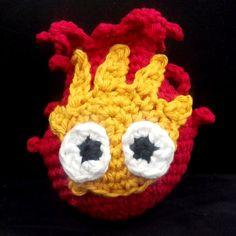 Crochet pattern  Quick and Easy Cute Calcifer by AmigurumiEmpire