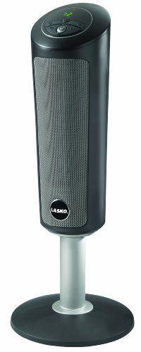 Lasko 6367 Digital Ceramic Pedestal Heater with Remote Control