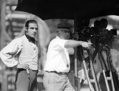 Names: Clarence Brown, Rudolph Valentino Rudoph Valentino, Clarence Brown, THE EAGLE, United Artists, 1925