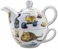 Many Cats tea for one