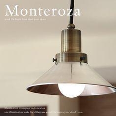 ペンダントライト■モンテローザ|GLF-3467■高級感のある真鍮鍍金塗装シンプルなデザインも人気のレトロランプ【後藤照明】