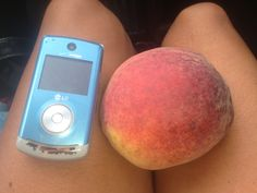 Gigantic peach from Jersey