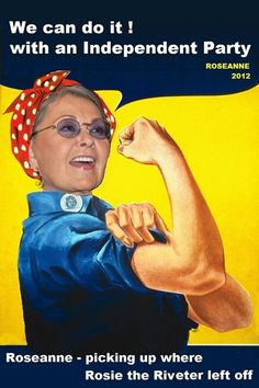 """Picking up where """"Rosie the Riveter"""" left off..."""