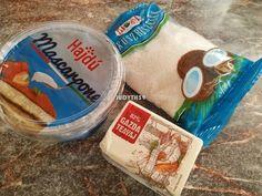 Egyszerű karamellkrémes csíkos szelet - sütés nélkül recept lépés 1 foto Nutella, Lunch Box, Mascarpone, Bento Box