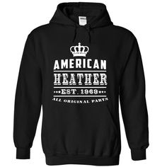 (Greatest T-Shirts) American - Heather - 1969 - JD - Order Now...