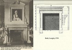 Antique Mantel from the George II Period in the Manner of Batty Langley image 6