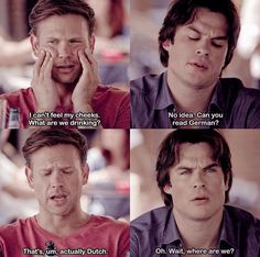 #TVD The Vampire Diaries Alaric & Damon, I'm pretty sure I've already pinned this before..