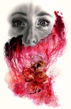 Amnesiac by Kate Powell Art