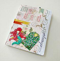 Tutorial Cinderella : Cómo fabricar tu propia agenda-diario de viaje, en forma de cuadernito – ¡con contenido de agenda imprimible en esta entrada!