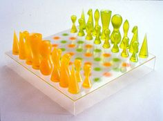 Artcar 084 chess chess sets and chess pieces - Karim rashid chess set ...