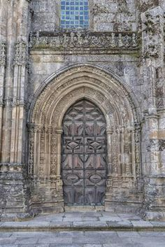 Lamego, Portugal, Lamego Cathedral Portal Photographic Print by Jim Engelbrecht at Art.com