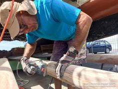Written byMoani Hemuli Led by master navigator and captain Bruce Blankenfeld, Moani Hemuli is part of a dry dock team caring for the traditional voyaging