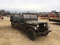 1953 #Jeep M38-A1 extended VIP #Limo.
