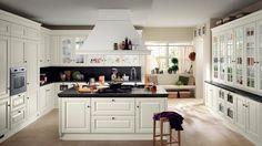 Cucina bianca classica | Casa | Pinterest | Cucina, Arredamento e ...