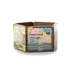 Practice Courage Bracelet | Kelly Rae Roberts