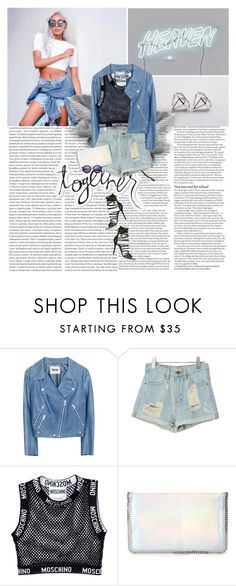 """""""The way you move it's like you could use a vacation"""" by vexybabe ❤ liked on Polyvore featuring Oris, ASOS, Acne Studios, Moschino, STELLA McCARTNEY, House of Holland, Giuseppe Zanotti, women's clothing, women and female"""