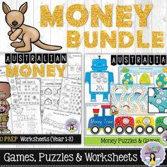 Hands-On Australian Money Activities – Fairy Poppins