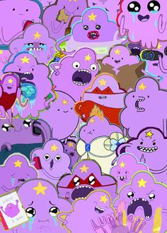 gotta love Lumpy Space Princess from Adventure Time! Me and my teenage daughter laugh so much at this character :)