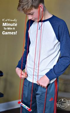 Awesome Minute To Win It Games that are Great for Kids, Teens and Adults - For Your Family Parties! Awesome Minute To Win It Games that are Great for Kids, Teens and Adults - For Your Family Parties! - Perfect for Holiday parties, like Christmas, Tha. Youth Games, Team Games, Adult Games, Fun Games, Awesome Games, Group Games, Fall Party Games, Christmas Party Games, Holiday Parties