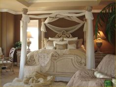 images about Elegant Bedrooms on Pinterest