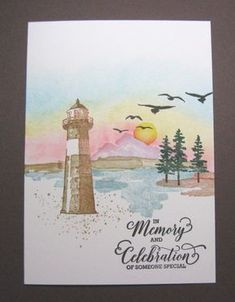 allee's by allee's - Cards and Paper Crafts at Splitcoaststampers High Tide Stampin Up, Birthday Cards For Men, Male Birthday, Nautical Cards, Beach Cards, Stamping Up Cards, Am Meer, Get Well Cards, Pretty Cards