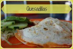 Einfach mal einfach - Quesadillas