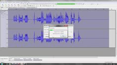 Loudness in Audacity mit Bass and Treble