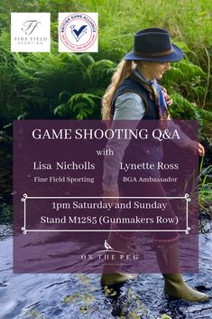 We're going to the Game Fair 2019 at Hatfield House! Game Shooting, Shooting Club, Lady Games, Clay Pigeon Shooting, Hatfield House, Shooting Accessories, Fun Days Out, Country Outfits, Say Hi