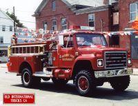 1979 International Truck Model 1854 4x4 fire truck.