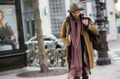 http://chicerman.com  billy-george:  I really love this guys layering! Works so well. Paris Fashion Week Photo by Manuel Pallhuber  #streetstyleformen
