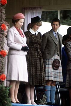 The royal family even has their own Balmoral tartan, whichwas designed by Queen Victoria's husband in 1853. The gray, red, and black plaid can only be worn by the Queen and her personal piper,plus a few other members of the royal family (if the Queen gives her permission first!).