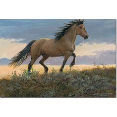 WGI Gallery Buckskin Stallion Wall Art Printed on
