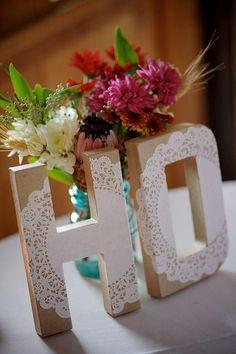 Mariage - Napperon Décorations de mariage
