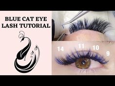 Cat Eye Tutorial, Eyelash Extensions Aftercare, Volume Lash Extensions, Curling Eyelashes, Mua Makeup, Volume Lashes, Skin Care, Colorful, Youtube