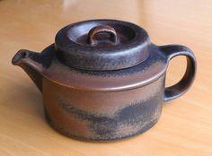 Arabia Pottery Finland Ulla Procope Ruska Teapot in Pottery, Porcelain & Glass | eBay