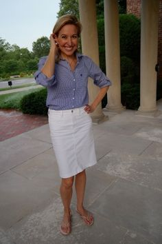 Fourth of July Outfits: gingham