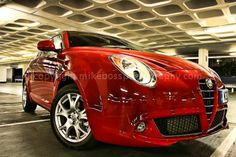 Alfa Romeo's stunning supermini the Mito.  This and more of my work available at www.mikebossphotography.co.uk