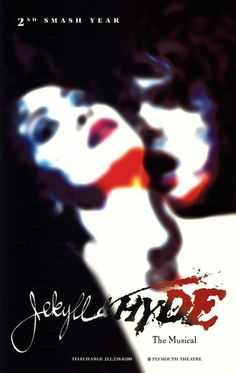Jekyll and Hyde (Broadway) The Musical  Movie POSTER 27 x 40 , A