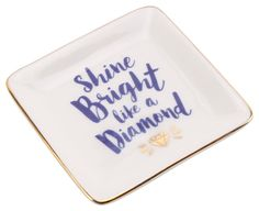 Shine Bright Like a Diamond Ring Holder #ringholder #shinebrightlikeadiamond #giftforher