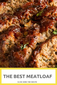 Yasss may be the only word you utter after your chomp down and savor the bursting flavors of this delicious classic, tender, and moist meatloaf. The Best Meatloaf Copycat PF Chang's Mongolian Beef Recipe Classic Meatloaf Recipe, Good Meatloaf Recipe, Meat Loaf Recipe Easy, Best Meatloaf, Meat Recipes, Asian Recipes, Cooking Recipes, Healthy Recipes, Healthy Meatloaf Recipes
