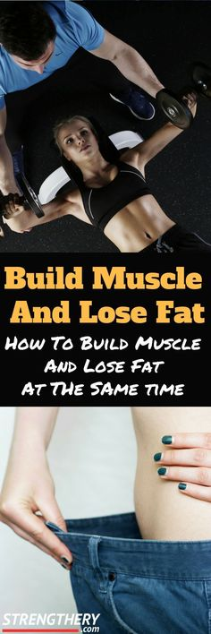 Do you want to know how to build muscle and lose fat at the same time? Of course you want to! Read this article to discover how and what to expect. Fast Weight Loss, Weight Loss Tips, Lose Weight, Posture Correction Exercises, Weight Training For Beginners, Muscular Development, Burn Belly Fat Fast, Improve Posture, Lose Body Fat