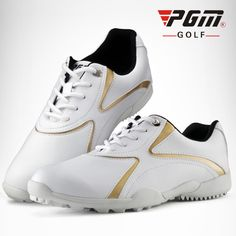 PGM Golf Shoes Women Brand Sports Shoes 2017 Professional Golf Sneakers Spike Sports Shoes Breathable Golf Shoes <font><b>Verni</b></font> A Ongle