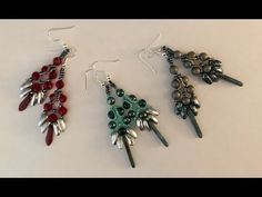 Chilli Bead Earrings - YouTube