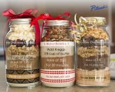 Add your personal touch to your kitchen creations this holiday season!  Learn more at www.brotherptouch-usa.com Jar Food Gifts, Mason Jar Meals, Christmas Desserts, Christmas Recipes, Christmas Baking, Thanksgiving Recipes, Homemade Gifts, Candle Jars, Craft Gifts