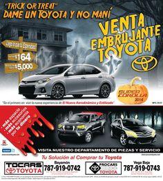 Anuncio prensa Tocars/Procars Toyota