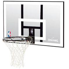 Tablero Spalding NBA Acrylic Backboard. Ya seas un Club, un Colegio, o simplemente quieras montar una cancha en tu casa, www.basketspirit.com/Spalding/Canastas-aros-y-tableros-baloncesto